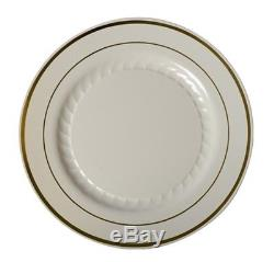 1000 Piece Plates-cutlery Set China Look Disposable Plastic Wedding Special