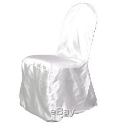 100 Brand New Satin Banquet Chair Covers Wedding