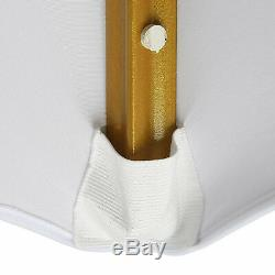 100pcs White Spandex Stretch Folding Chair Covers Wedding Party Banquet US