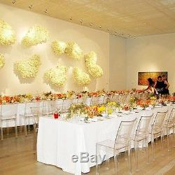 10 Rectangle 90x132 Polyester Tablecloths 6ft Banquet Table Cover 12 Colors