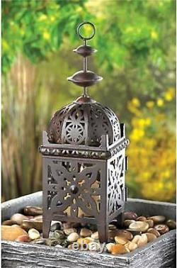 10 Romantic Moroccan Style Lanterns Candle Holder 11