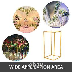 10 pcs Geometric Metal Stands Flower Vase Holders Wedding Party Home Centerpiece