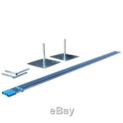 10ftx10ft Heavy Duty Pipe and Drape Backdrop Support with Weighted Steel Base