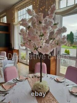10x 4ft Blossom Tree Table Centrepieces Pink for hire for £300