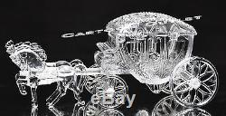 12 Cinderella Coach Carriage Wedding Party Favors Table Decor Clear Cake Topper