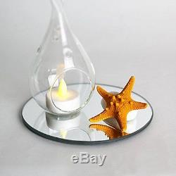 12 pcs Round 6 Glass MIRROR Wedding Table Decorations PARTY Centerpieces