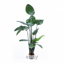 150CM Potted Artificial Birds of Paradise Wedding Decor Fake Tree Plant Indoor