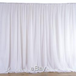 20FTx10FT Fabric BACKDROP Wedding Party Photobooth Curtain Decorations 3 Colors