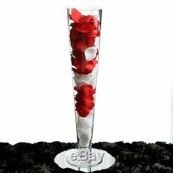 20 tall Trumpet Clear Glass Vases Party Wedding Centerpieces WHOLESALE Discount