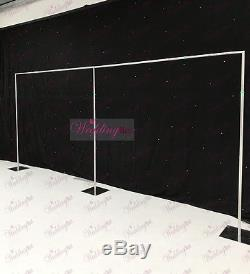 20ftx10ft Economy Telescopic Wedding Backdrop Stands for Sale (6Mx3M)