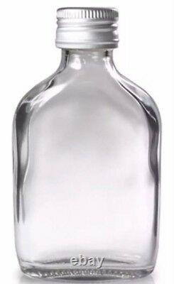 250SALEMini 50ml Flask glass Bottles for ZamZam Water Favours and Gifts Empty