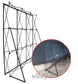 2.3MX2.3M Wedding Flower Wall Stand Black Iron Folded Pipe Flower Frame For Wedd