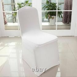 300 Pcs Sparkle Sequin Spandex Stretch Chair Sashes Cover Band Wedding Banquet