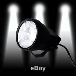 3W LED White SPOT LIGHTS Decorations DJ Stage Wedding Party Backdrop Supplies