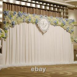 4 Post 10FTx10FT DIY Adjustable Party Wedding Backdrop Stand Canopy Tent Chuppah
