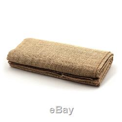75 Burlap Chair Sashes 100% Natual Refined Jute Squared end Event Wedding Decor