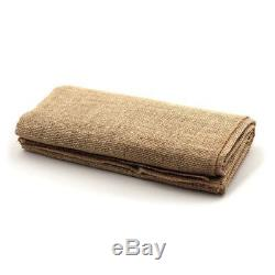 75 Burlap Chair Sashes 6x108 Wedding Event Parties Shows 100% Natural Jute