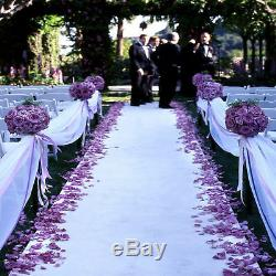 75 ft Satin Aisle Runner 22 Colors Red Carpet Events Wedding Party Banquet