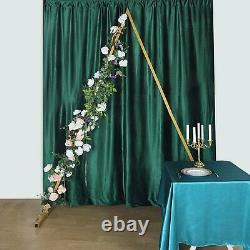 8 ft tall Gold Triangle Metal Arch Backdrop Stand Wedding Photo Background Party