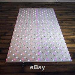 8 pcs 23.25 Colorful LED MIRRORS Dance Floors Wedding Party Reception