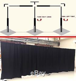 ADJUSTABLE QUICK BACKDROP KIT 10 FT TALL x 20 FT- 50 FT WIDE PIPE WITHOUT DRAPE