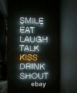 ART LED Neon Sign for Interiors Fun Events Gift Bar PUB Restaurant Cafe