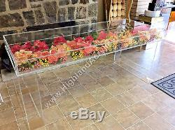 Acrylic Lucite Bride & Groom Bridal Sweetheart Table 44L x 18W x 30H
