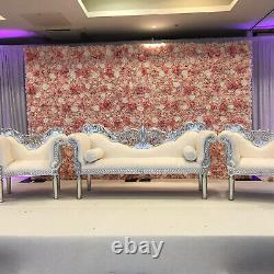 Artificial Fake Flower Hydrangea Wall Panel for Bouquet Wedding Party Home Decor