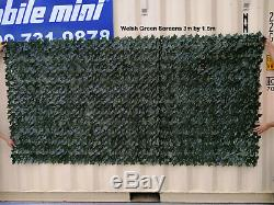 Artificial Ivy Leaf Hedges Privacy Screen Garden Fence Panel Roll 2m x 3m BOX
