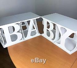 Candy Cart Baby Blocks Props Or Sweet And Cake Display, 4 Blocks 30cm Square