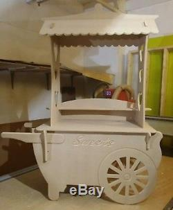 Candy Cart for weddings Christenings etc collapsible Sweet stall children's size