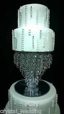Chandelier cake stand Crystal cake stand for wedding in 6 to 20 round /square