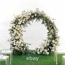 Circular Round Wedding Backdrop Stand Arch Framework Party Stand Metal Archway