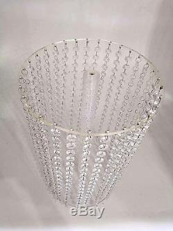 Crystal Cake Stand Wedding Centerpiece Display Party Event Decoration