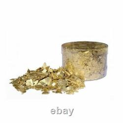 Crystal Candy Inca GOLD Edible Flakes 6g