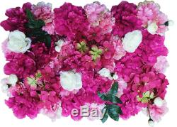 Decorative Flower Panels Flower Wall Red/Pink/White