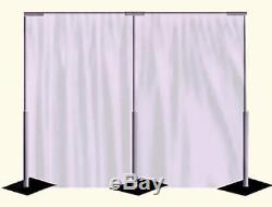 Fairy light Economy Wedding Backdrop Package with Backdrop Stands for Sale
