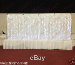 Fairylight Economy Wedding Backdrop Package for Sale