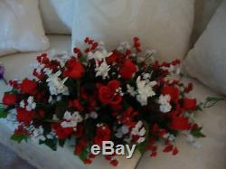 Floral Wedding Centerpieces 3 Piece Set Custom Designed Any Color Free Shipping