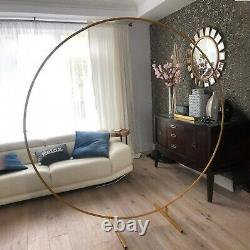 Flower Decorative Iron Ring Circle Background Arch Ring For Wedding Birthday New