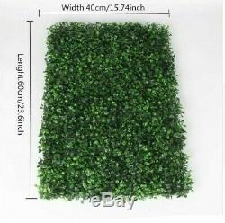 Green Hedge Artificial Flower Wall Panel Artificial Hedge Green flower wall