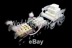 Horse and carriage cake stand for weddings and birthdays