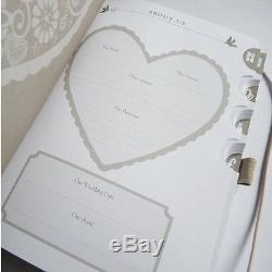 KTwo Busy B Wedding To do Planner Book/Journal/Notebook/Organiser Engagement