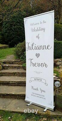 Large Wedding Signs Personalised Welcome To Our Wedding Sign Any Wording