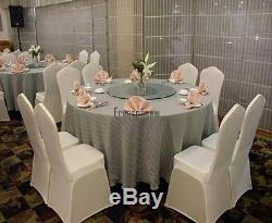 NEW 400 Spandex Folding Chair Covers Wedding Party Décor White Free Shipping