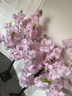 Pink Blossom Trees X4 BRAND NEW