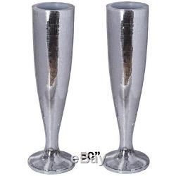 Silver Mirror Mosaic Wedding Vases 50 tall Centerpieces Decorations WHOLESALE