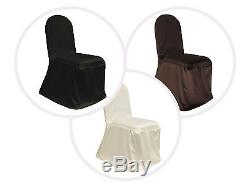 Stretch Scuba CHAIR COVERS Wedding Party Supplies Wholesale