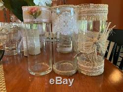 Vases (34) Bridal Shower, Engagement Party, or Wedding. Various Sizes
