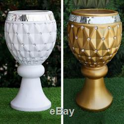 WEDDING VASES 21 Crystal Beads Wedding Party Home Decorations WHOLESALE SALE